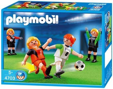PLAYMOBIL - 2 Damenteams